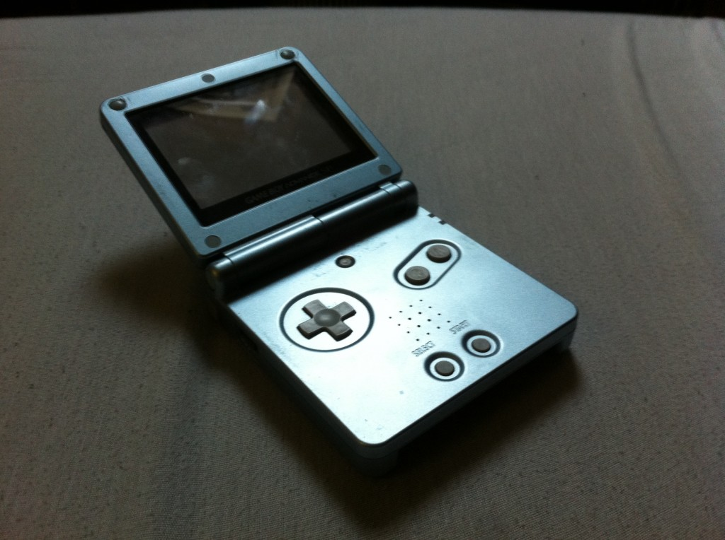 GBA SP Gris