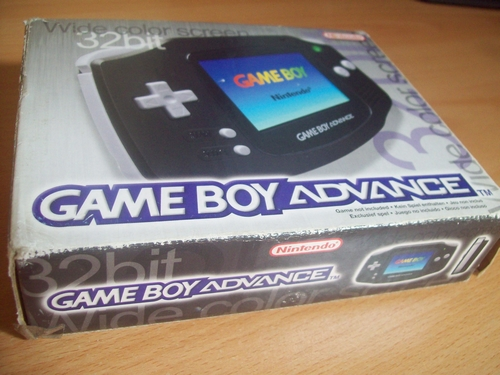 Gameboy Advance Noire