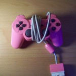 PS2 Manette Rose
