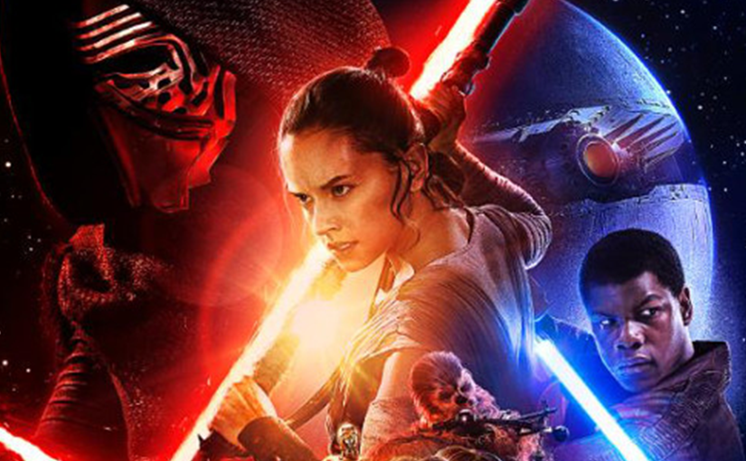 affiche star wars the force awakens