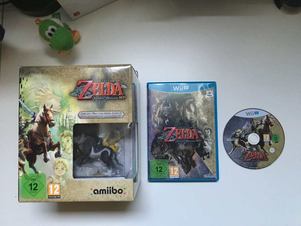 The Legend of Zelda Twilight Princess HD (Pack Amiibo)
