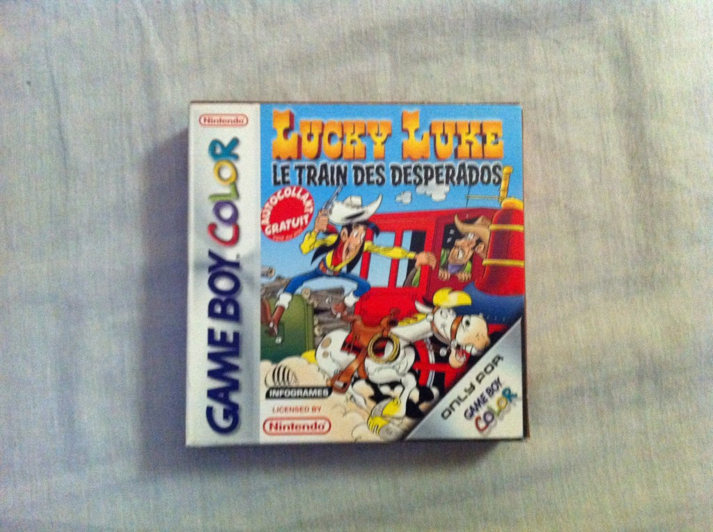Lucky Luke Le train des Desperados